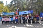 Впервые в Алтайском крае и Рубцовске состоялся парад российского студенчества