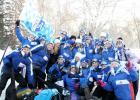 Закончилась межрегиональная патриотическая акция «Снежный десант-2015»